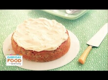 Gluten-Free Zucchini-Almond Cake – Everyday Food with Sarah Carey