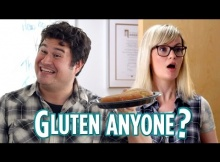What Happens When You Tell People You Can't Eat Gluten (funny)