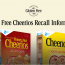 Recalled Cheerios